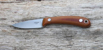 #16 Natural Canvas Micarta