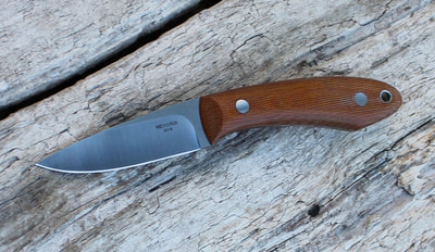 #10 Natural Canvas Micarta